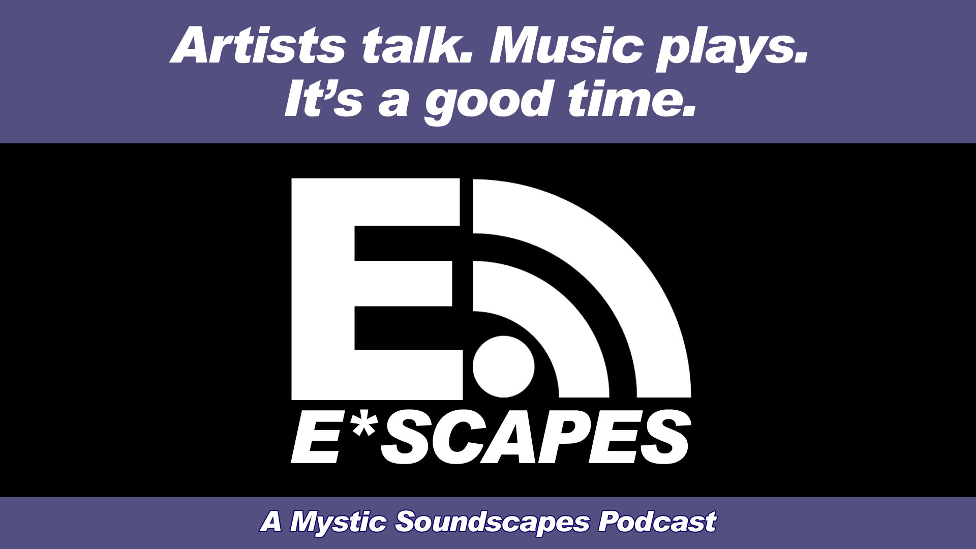 E-Scapes podcast logo