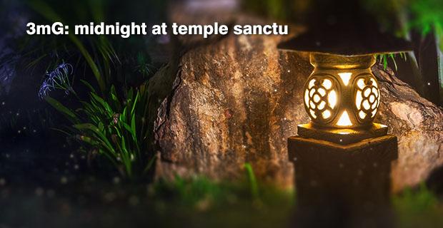 3-minute Getaways 007: Midnight at Temple Sanctu